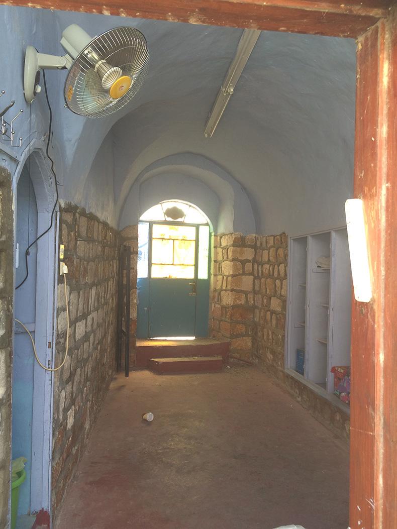 בית עתיק בצפת לפני השיפוץ