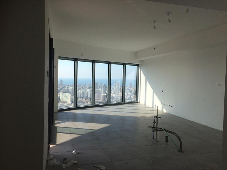 נוף אורבאני מהדירה