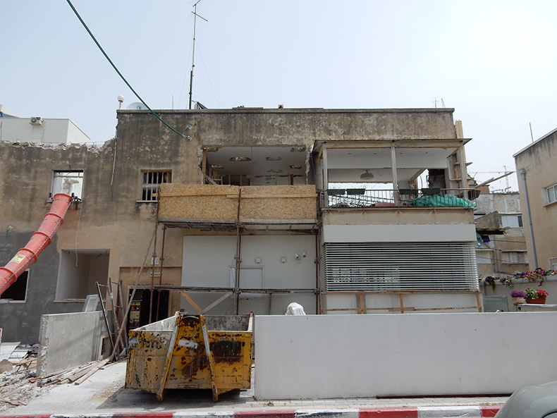 תחילת שיפוץ ועיצוב דירה בתל אביב