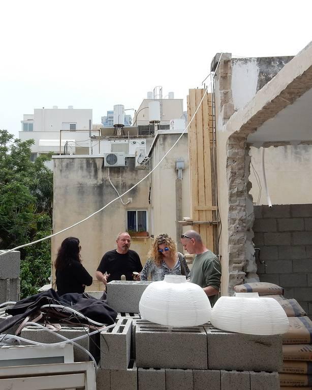 תחילת פרויקט עיצוב דירה בתל אביב