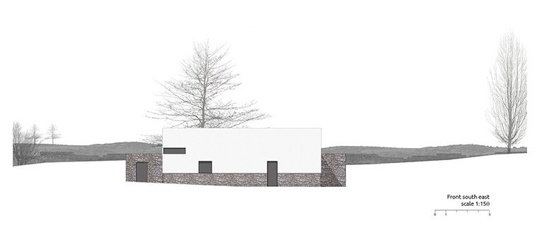 Integration Of Topography And Landscape In A Private House